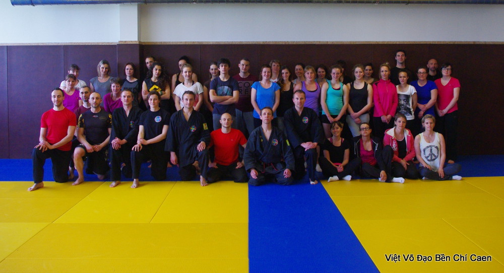 Stage Self Defense Vo Tu Ve Groupe Caen